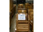 Lot: 425 - (17) WOOD TEACHER'S CHAIRS