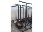 Lot: 11 - Industrial Rolling Stage Cart