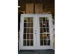 Lot: 1164 - White French Doors