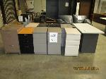 Lot: 06 - (9) File Cabinets & Table