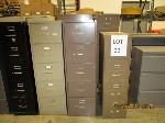 Lot: 23 - (24) File Cabinets & Shelves