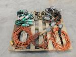 Lot: 37 - Electrical Cords & Drop Lights
