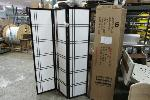 Lot: 11 - (8 BOXES) OF ROOM DIVIDERS