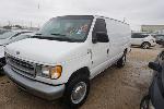 Lot: 26-59605 - 2002 Ford E-350 Super Duty Van