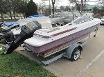 Lot: 18-2697&18-2724 - 2013 MAXU 180 BOAT & SHEL TRAILER