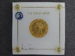 Lot: 6739 - 1880 U.S. $10 GOLD COIN