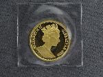 Lot: 6746 - 1996 GIBRALTAR 1/2 OZ. GOLD ROYAL COIN