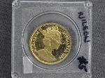 Lot: 6748 - 1996 GIBRALTAR 1/2 OZ. GOLD ROYAL COIN