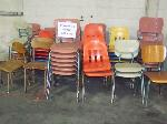 Lot: 502 - (45+) ASSORTED STUDENT CHAIRS