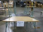 Lot: 529 - (5) TRAPEZOID TABLES