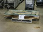 Lot: 537 - (3) FOLDING CAFETERIA TABLES