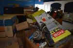 Lot: 1197 - Pallet of Returned Tools: Weedwacker, Nail Gun
