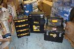 Lot: 1199 - (3) Toolboxes