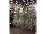Lot: 6198 - (3) Metal Shelfs