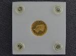 Lot: 640 - 1873 $1 GOLD COIN