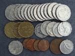 Lot: 648 - SBA & SACAGAWEA DOLLARS, LIBERTY HALF & QUARTERS