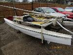 Lot: 02 - 2006 HOMEMADE TRAILER W/ SAILBOAT