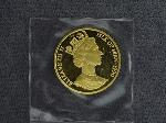 Lot: 6762 - 1990 ISLE OF MAN 1/2 OZ. GOLD CROWN