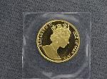 Lot: 6766 - 1992 ISLE OF MAN 1/2 OZ. GOLD CROWN