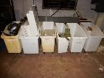 Lot: DH-21863 - (6) Rolling Storage Bins