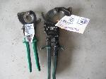 Lot: 175&176 - (2) WIRE CUTTERS & TIRE IRON