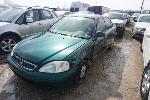 Lot: 02-21103 - 1999 Honda Civic - Key / Started