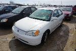 Lot: 07-145398 - 2002 Honda Civic - Key / Runs & Drives