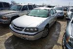 Lot: 13-140981 - 2002 Chevrolet Impala - Key / Runs & Drives