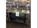 Lot: 6221 - Stainless Steel Table