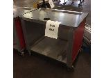 Lot: 6230 - Stainless Steel Table