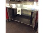 Lot: 6235 - Stainless Steel Table