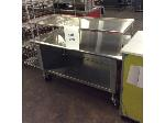 Lot: 6238 - Stainless Steel Table