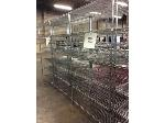 Lot: 6239 - (9) Metal Racks