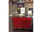 Lot: 6252 - Stainless Steel Table w/ Safe