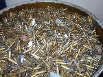 Lot: 1-PD - (4) 55-Gallon Drums of Once Fired Brass