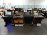Lot: 103 - (4) Gaming Machines<BR><span style=color:red>THIS IS A RESTRICTED AUCTION</span>