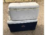 Lot: 16 - (2) ICE CHESTS