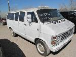Lot: 701 - 1985 DODGE RAM VAN - NON-REPAIRABLE