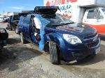 Lot: B8120686 - 2010 CHEVROLET EQUINOX LT1 SUV - KEY / STARTED
