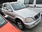 Lot: 1903336 - 2002 MERCEDES-BENZ M-CLASS SUV - KEY* / STARTED