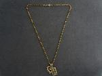 Lot: 6886 - 10K NECKLACE & PENDANTS