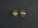 Lot: 6890 - 14K WEDDING SET