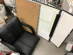 Lot: 81.SF - Office chair & (3) memo boards