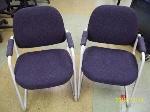 Lot: 100 - (6) Lobby chairs