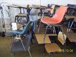Lot: 107 - (14) Student desks