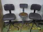 Lot: 111&112 - (3) Barstools & (12) Chairs