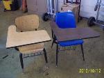 Lot: 123 - (12) Student desks
