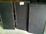 Lot: 7 - (2) Speakers w/ Base Box