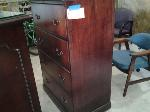 Lot: 42 - (2) Wood Lateral File Cabinets