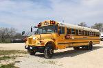 Lot: V-4 - 2003 International School Bus - Key / Runs